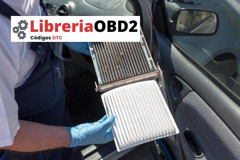 Filtro de aire de cabina: síntomas, función, ubicación y costo de reemplazo