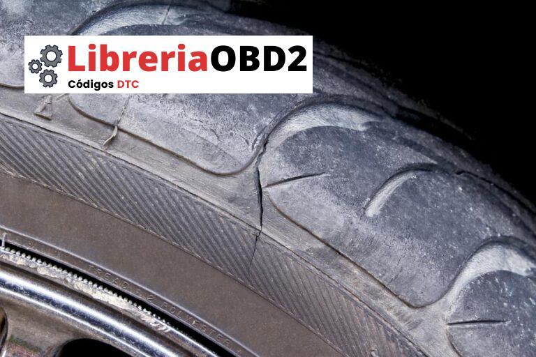 ¿Qué es el daño de un neumático en la pared lateral y cuándo reemplazar el neumático?