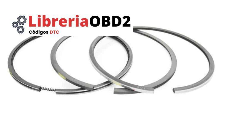 4 síntomas de anillos de pistón defectuosos, ubicación y costo de reemplazo