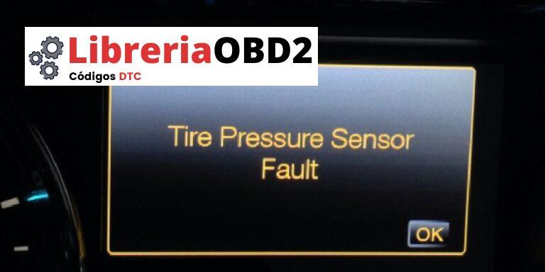 """¿Qué significa """"Fallo del sensor de presión de los neumáticos"""" y cómo solucionarlo?"""